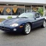 XK8 Parts - Jean LF's Classic Looking XK8 Convertible Waiting to be shipped from Miami to new home in France