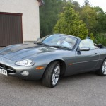 Barry M's Superb XK8 4.2 Collecting Parts at our Location in the Scottish Highlands