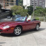 XK8 Parts - David R's Splendid Looking XK8 Convertible based in Hong Kong