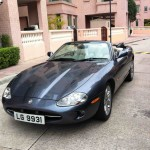 XK8 and XKR Parts Gallery Gary W's Smart Looking XK8 in Hong Kong