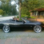 XK8 Parts Kari F's Smart Looking Ex USA XK8 Convertible now in Finland