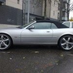 Mika's Great Looking XKR Convertible in Finland