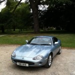 XK8 Parts - Simon C's 1996 XK8 in Nice Ice Blue Metallic Paint