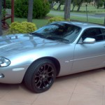 Tom D's Great Looking XKR with Black D5 Alloys Perth Aus