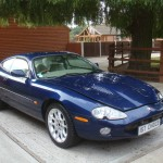 XKR Parts - Paul H's Damaged XKR in the UK