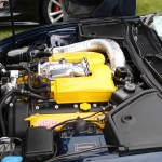 Detailed and Impressive XKR Engine Bay