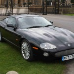 Great Looking XKR Coupe with Sepang's in Front of Blenheim Palace Gates
