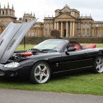 Impressive XKR Convertible with Detroit Alloys
