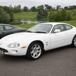 Jaguar XK8 in White Quite Unusual