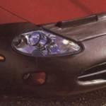 Jaguar XK8 XKR Front-Bumper Protector