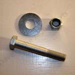 XK8 XKR XJ8 XJR XJS Front Lower Shock Absorber Securing Bolt, Washer and Nut