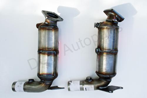 Front Windshield Replacement >> Jaguar XK8 XKR Catalytic Convertors NNE6700CA NNE6701CA ...
