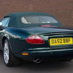 XK8 XKR Convertible Replacement Hood Soft Top (Illustration Image Courtesy of M Allen)