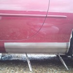 Jaguar XK8 XKR (X100) Rear Half of Sill Repair Panel