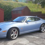 Neil E's Great Looking Late 2006 XKR in Zircon Blue Based in Scotland
