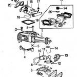 Jaguar XKR (X100 and X150) Supercharger Unit Layout