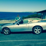 Chris's Nice Looking XK8 Convertible on tour in Australia