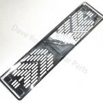 Jaguar XK8 XKR Chrome Plastic Number Plate Bases