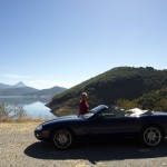 Mike and Val's Great Looking XK8 Convertible based in the UK on Tour in Northern Spain