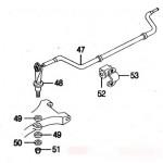 Jaguar XK8 XKR Rear Suspension Parts Layout 2