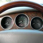 Jaguar XK8 XKR (X100) Polished Alloy Instrument Set of 6