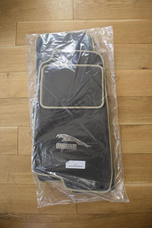 Jaguar XK8 XKR (X100) Custom Carpet Set in Mocha