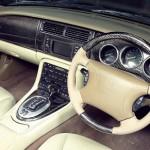 Jaguar XK8 / XKR (X100)  Interior Replacement Dash Top in Stunning Black Graphite