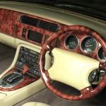 Jaguar XK8 XKR (X100) Beautiful Polished Burr Walnut Dash Top