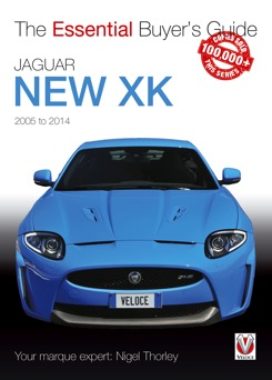 NEW Book Jaguar New XK 2005 - 2014