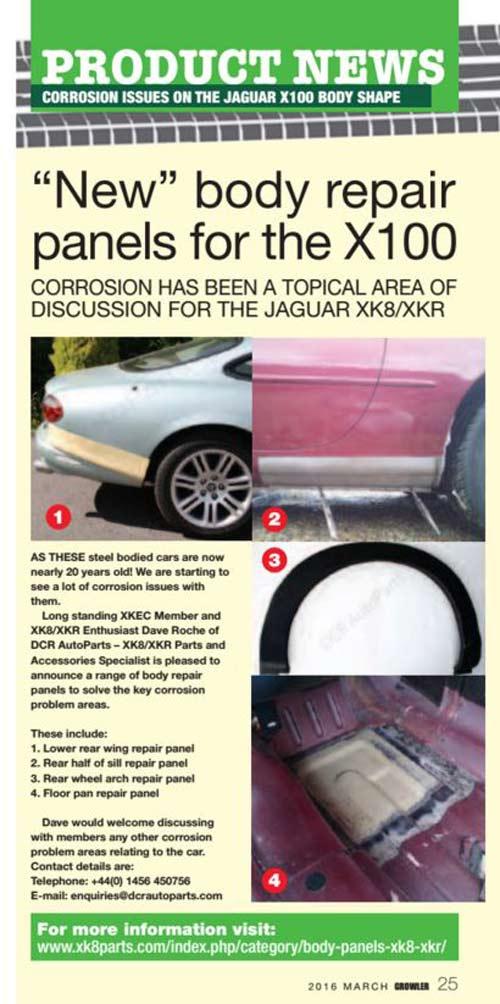 Jaguar XK8 and Jaguar XKR Parts and Accessories - Part 24