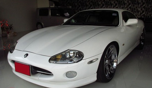 High Priced Jaguar XK8 in the Far East - Prices are on the Up !