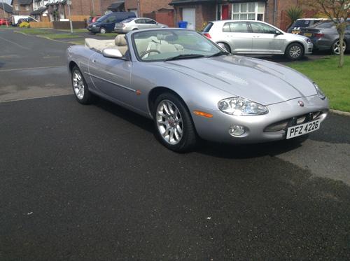 Jaguar XKR 4.0 2002 For Sale 1