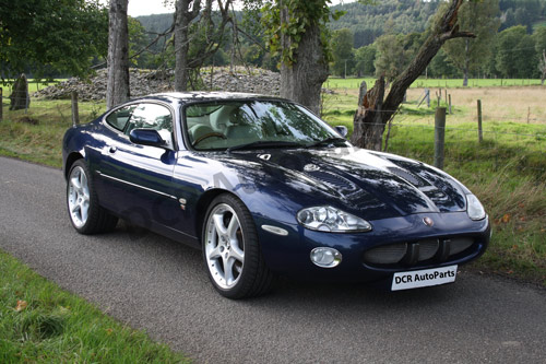 DCR XK8 XKR Parts New XKR 4.0 Project Car Enjoying a New Life in the Scottish Highlands