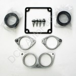 Jaguar (Eaton) Supercharger Duct Seals and Clamps Replacement Parts Upgrade Kit