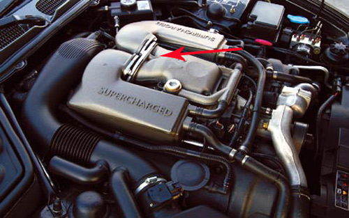 Jaguar XKR XJR Supercharger Leaking Ducts and Seals