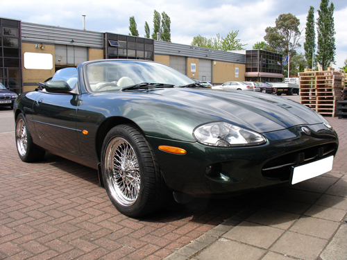 Jaguar Xk8 With Our Aftermarket Wire Wheels
